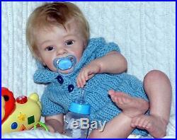 Reborn baby dolls Yannik made from Limited kit Yannik by sculptor Natali Blick