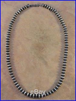 Sandra Zambrano Navajo Sterling Silver Hand Made Necklace