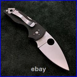 Spyderco Lil Native C230MBG G10 Plain Edge Knife S30V steel American Made