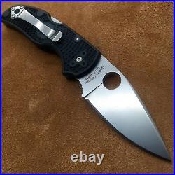 Spyderco Native C41PBK5 FRN Plain Edge Knife S30v steel American Made