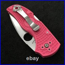 Spyderco Native C41PPN5 FRN Plain Edge Knife S30v steel American Made