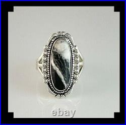 Sterling and White Buffalo Native American Made Ring