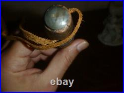 TRADE PIPE TOMAHAWK INDIAN NATIVE AMERICAN BRASS Axe art made