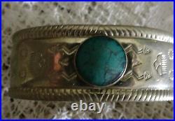 Vintage Native American Navajo Mens hand made Bracelet