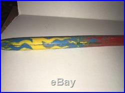 Vintage Native American Peace Pipe Hand Made Hatchet Original 1960's 70's