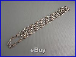 Vintage Navajo Hand Made Sterling Link Chain 30 Grams 21.5 Inches