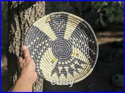 Vintage Navajo Wedding Basket Dine Native American Hand Made Ceremonial Object