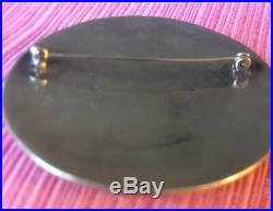 Vintage Sterling Silver Road Runner Hopi Hand Made Brooch