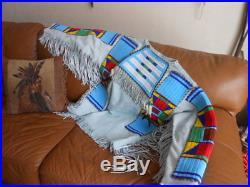 WAR SHIRT REGALIA for Pow Wow Native American made size M