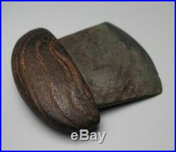 Well Made North American Native Inuit Eskimo Canadian Alaskan Stone Ulu Knife Nr